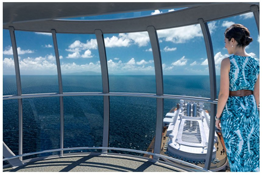 Quantum of the Seas window film installation