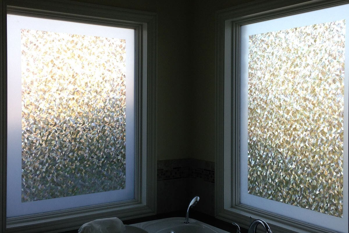 Custom Decorative Window Film residential decorative window film for privacy | deerfiled window
